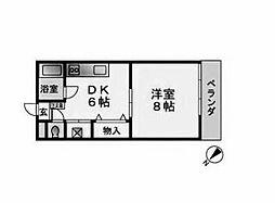 ことぶきアパート[2階]の間取り