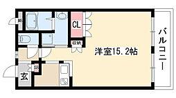 愛知県名古屋市緑区鳴海町字嫁ケ茶屋の賃貸アパートの間取り