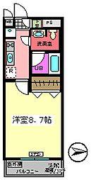 バレーヌ Y&K[503号室]の間取り