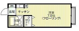 グランメール辰巳[102号室号室]の間取り