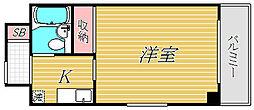 リーセントパレス宮崎[7階]の間取り