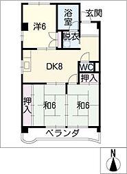 メゾン・大和[2階]の間取り