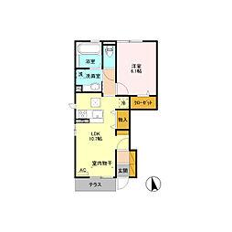 仮)D-room軽井沢[1階]の間取り