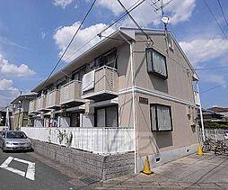 京都府京都市西京区桂南巽町の賃貸アパートの外観