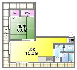 第2三洋ビル[7階]の間取り