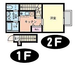 星久喜の家[2D号室]の間取り