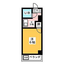 増山マンション[3階]の間取り