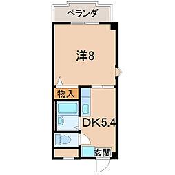 メゾンドール彩[4階]の間取り