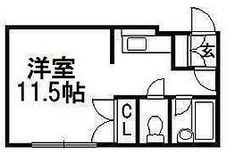 シェヌー裏参道[1階]の間取り