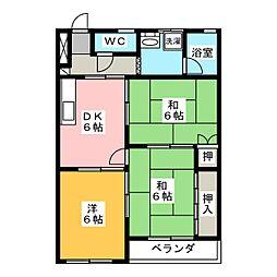 寿第3ビル[3階]の間取り