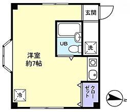 メゾンP&D[2階]の間取り