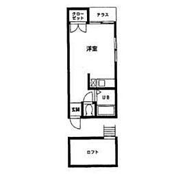 ネクス名島[103号室]の間取り