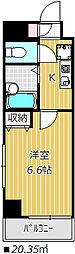 ガルダ船橋本町[2階]の間取り