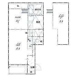 ル・ケレス八番町[2階]の間取り