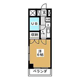 グッディ チヨダ[5階]の間取り