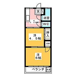 西川田駅 2.2万円