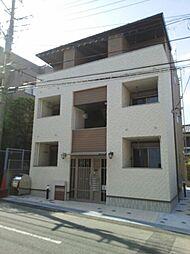 神奈川県川崎市宮前区有馬1丁目の賃貸アパートの外観