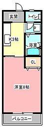 桜鈴館[2階]の間取り