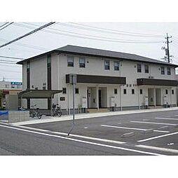 愛知県安城市二本木新町1丁目の賃貸アパートの外観