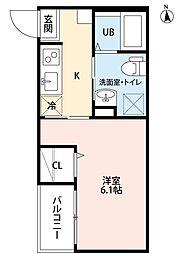 REVE今池(レーブイマイケ)[2階]の間取り