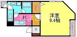 KISHI BLD.[2階]の間取り