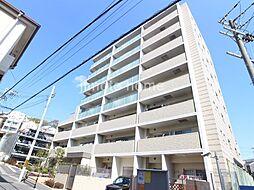 大阪府吹田市長野東の賃貸マンションの外観
