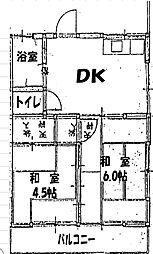 FORTE[2階]の間取り
