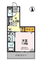 仮称)竹田向代町D-room[101号室号室]の間取り