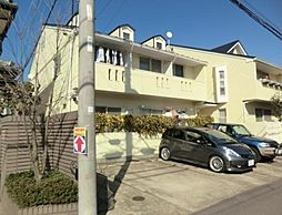 千葉県市川市菅野3丁目の賃貸アパートの外観