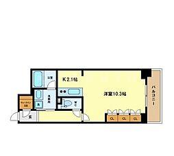 ACTIO梅田東[13階]の間取り