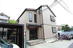 大阪府東大阪市瓜生堂1丁目の賃貸アパートの外観