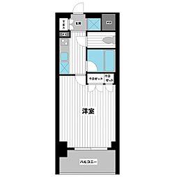 スペーシア川崎III[505号室]の間取り