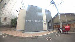 大阪府東大阪市旭町の賃貸アパートの外観