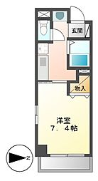 GP栄本町通り[4階]の間取り