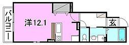 ピエタ・フィリアーレ椿 A・B・C棟[A102 号室号室]の間取り
