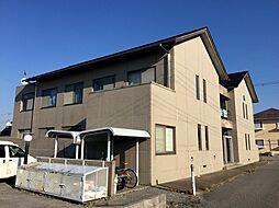滋賀県彦根市日夏町の賃貸アパートの外観