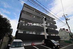 岡山県岡山市北区旭本町の賃貸マンションの外観
