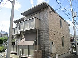 大阪府寝屋川市出雲町の賃貸アパートの外観