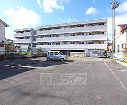 京都府京田辺市薪小山の賃貸マンションの外観