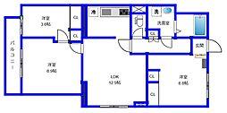 桜台レジデンス[1階]の間取り