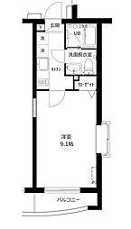 東京都武蔵野市関前5丁目の賃貸マンションの間取り
