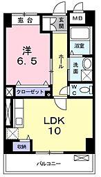 セレッソ・フィールド3[4階]の間取り
