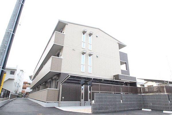 広島県広島市南区仁保新町1丁目の賃貸アパートの外観
