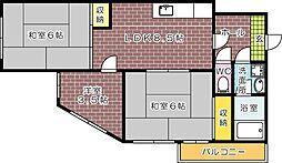 倉本ビル--[501号室]の間取り