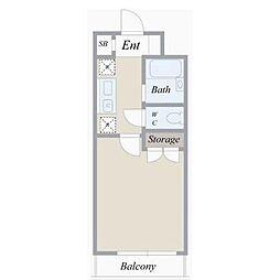 ルームコロン[1階]の間取り