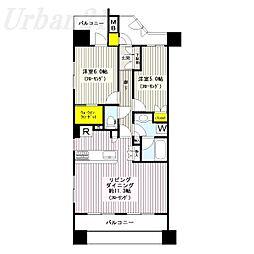 新横浜ヴォアール[2階]の間取り