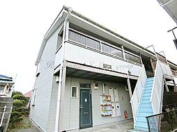 神奈川県藤沢市善行2丁目の賃貸アパートの外観