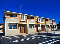 茨城県龍ケ崎市立野の賃貸アパートの外観