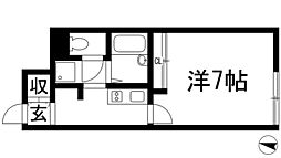兵庫県伊丹市中野西3丁目の賃貸アパートの間取り