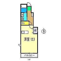 ベルヴェデーレ[1階]の間取り